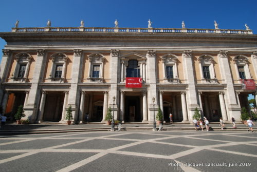 Place du Capitole, Rome, Italie