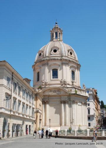 Église Très-Saint-Nom-de-Marie-au-Forum-de-Trajan, Rome, Italie