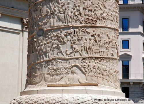 Colonne de Trajane, Rome, Italie