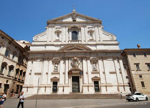 Église Sant'Ignazio di Loyola a Campo Marzio, Rome, Italie
