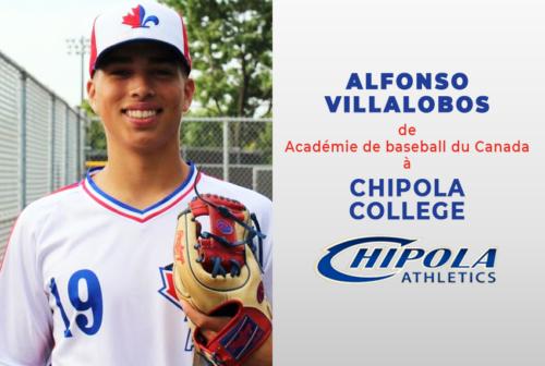 Alfonso Villalobos, Académie Baseball Canada