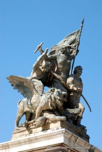 Monument à Victor-EmmanuelII, Rome, Italie