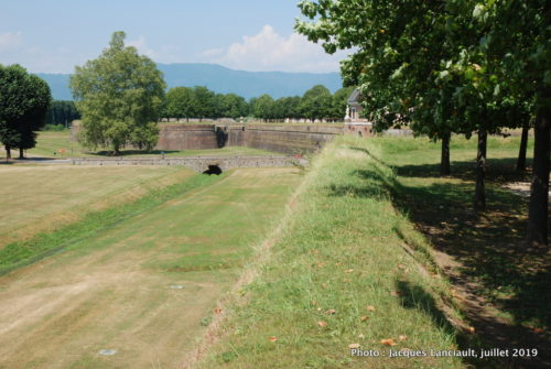 Fortifications, Lucca, Italie