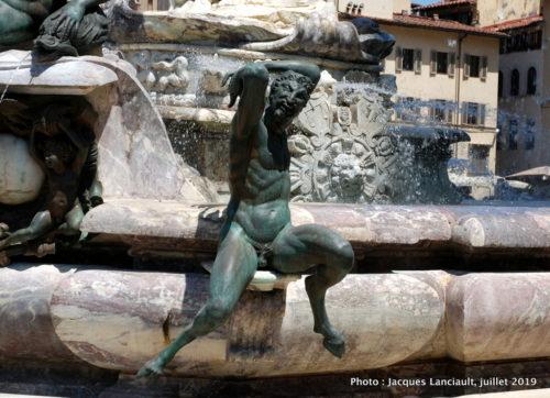 Fontaine de Neptune, piazza dellaSignoria, Florence Italie