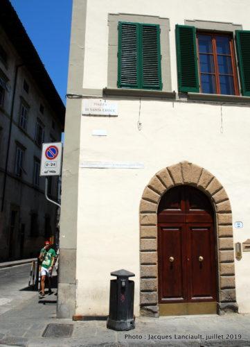 Piazza Santa Croce, Florence, Italie