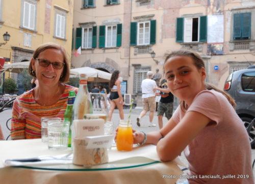Piazza Citadella, Lucques, Italie