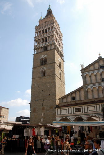 Campanile, Cattedrale di San Zeno, Pistoia, Italie