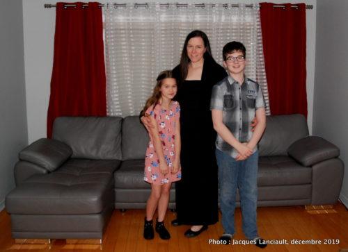 Lexie, Valérie et Eliott