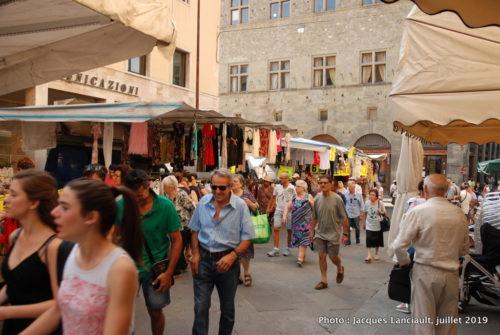 Marché public, Pistoia, Italie