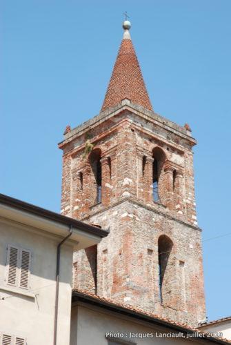 Campanile de la Chiesa di San Paolo, Pistoia, Italie