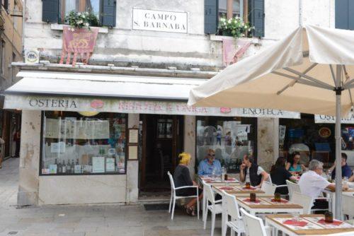 Ristoteca Oniga, Campo San Barnaba, Venise, Italie