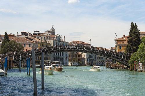 Pont de l'Accademia, Venise, Italie