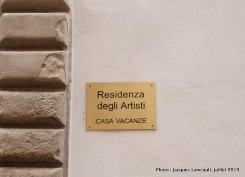 LaResidenza degli Artisti, Lucques, Italie