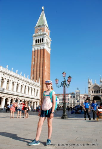 Campanile, piazza San Marco, Venise, Italie