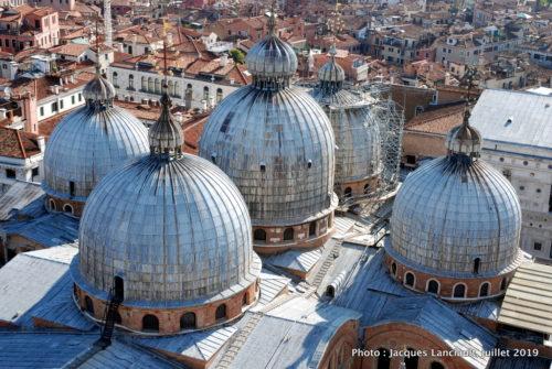 Dômes de la basilique San Marco, Venise, Italie
