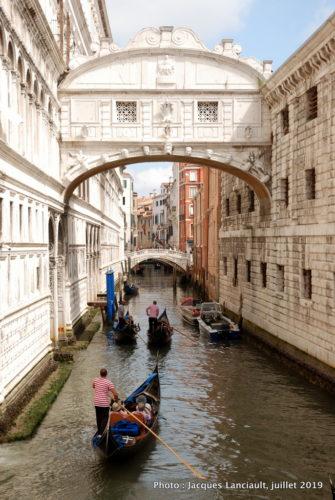 Le pont des Soupirs, piazza San Marco, Venise, Italie