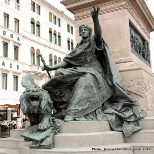 Monument équestre Vittorio Emanuele II, Venise, Italie