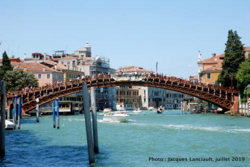 Pont de l'Académie, Venise, Italie