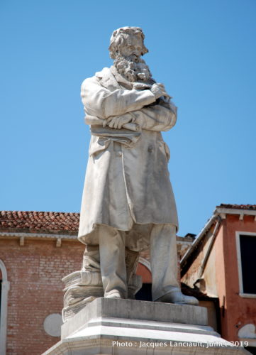 Campo San Stefano, Venise, Italie