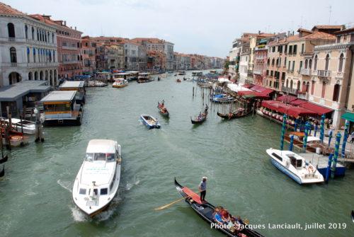 Grand Canal, Pont du Rialto, Venise, Italie