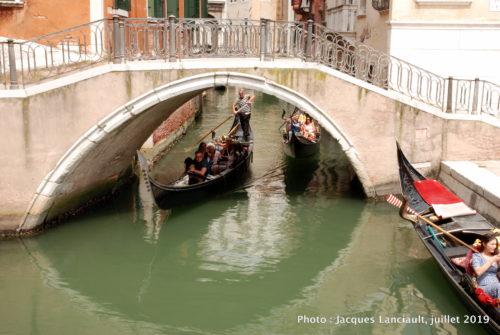 Gondoliers, Venise Italie