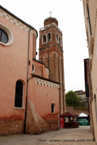 Campanile, Chiesa di San Sebastiano, Venise, Italie
