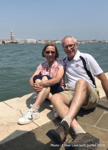 Céline et Jacques, Venise, Italie