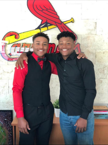Brandon et Francisco Hernandez, Cardinals de Saint Louis