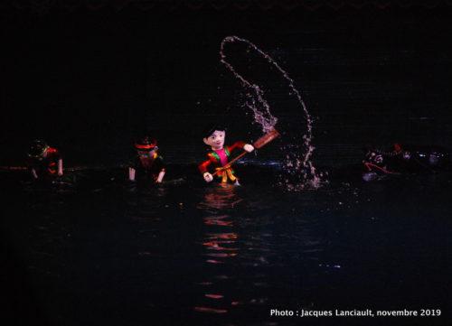 Théâtre de marionnettes Thang Long, Hanoï, Vietnam
