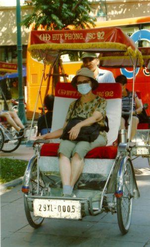 Cyclo-pousse, Hanoï, Vietnam