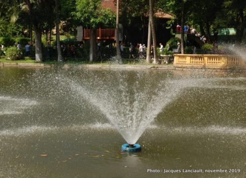 Jardin du palais présidentiel, Hanoï, Vietnam