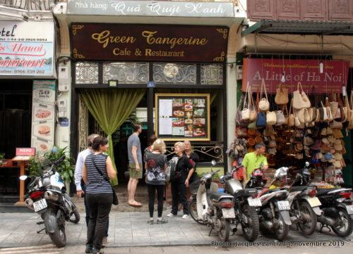 Restaurant Green Tangerine, Hanoï, Vietnam