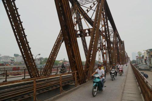 Pont Paul Doumer, Hanoï, Vietnam