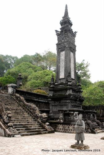 Mausolée de Khai Dinh, Hué, Vietnam