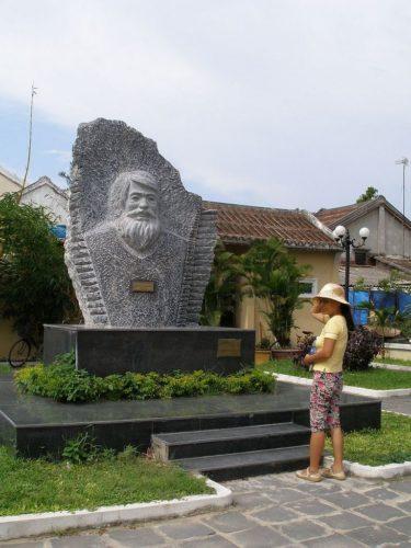 Monument Kazimierz Kwiatkowski, Hoi An, Vietnam