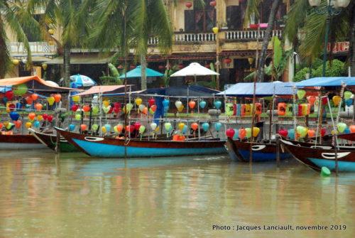 Rivière Thu Bon, Hoi An, Vietnam