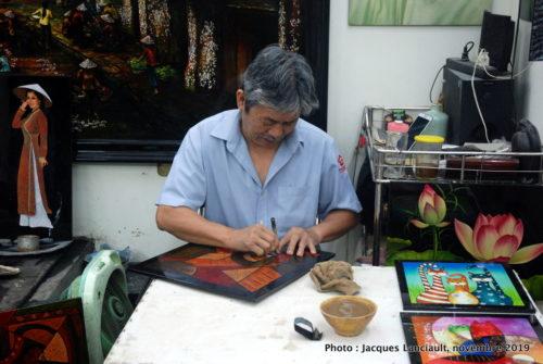 Fabrique artisanale de laques, Hô Chi Minh-Ville, Vietnam