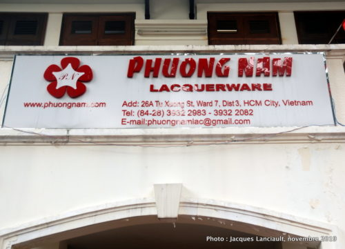 Phuong Nam Lacquerware, Hô Chi Minh-Ville, Vietnam