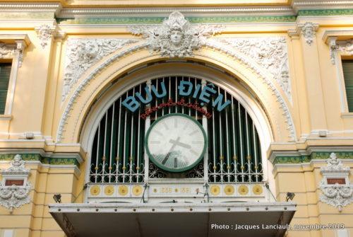Poste centrale, Hô Chi Minh-Ville, Vietnam