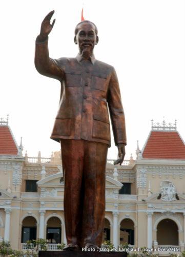 Statue de Hô-Chi-Minh, Hô Chi Minh-Ville, Vietnam