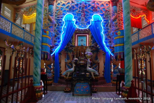 Temple caodaïste, Sa Đéc, Vietnam