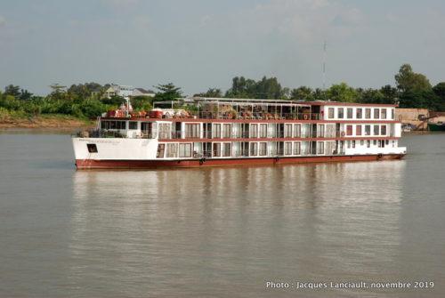 Frontière cambodgienne, fleuve Mékong, Vietnam