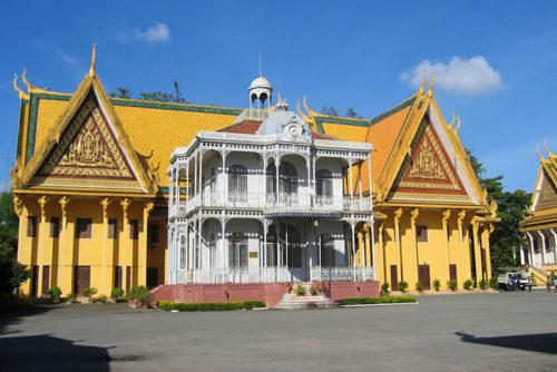 Pavillon NapoléonIII, palais Royal, Phnom Penh, Cambodge