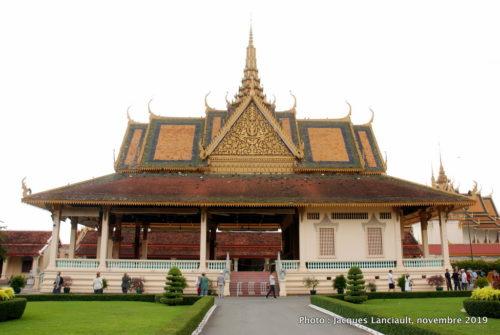 Palais Preah Tineang, palais Royal, Phnom Penh, Cambodge