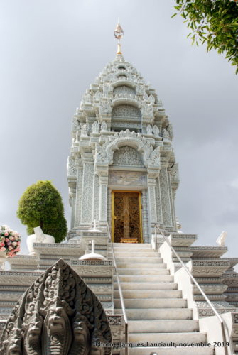 Stūpa, palais Royal, Phnom Penh, Cambodge