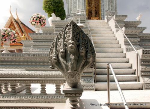 Nāga, Palais royal, Phnom Penh, Cambodge