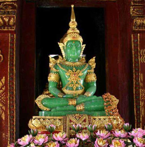 Pagode d'Argent, palais royal, Phnom Penh, Cambodge