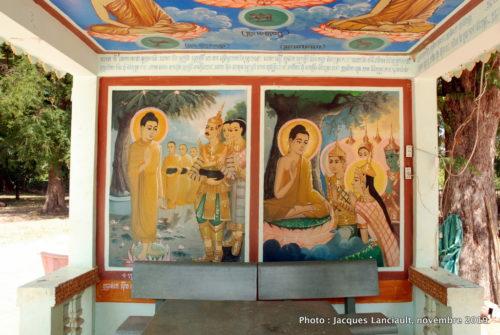Pagode Wat Kampong Leu, Kampong Tralach, Cambodge