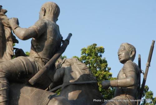 Monument Techo Meas et Techo Yort, Phnom Penh, Cambodge