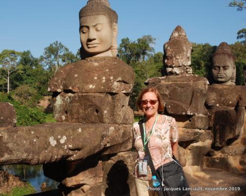 Angkor Thom, Siem Reap, Cambodge